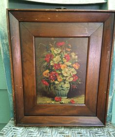 Floral wooden plaque,wooden floral picture,shabby chic picture, shabby floral picture,cottage floral, vintage art,vintage wall art by three20sycamorelane on Etsy https://www.etsy.com/listing/399846259/floral-wooden-plaquewooden-floral