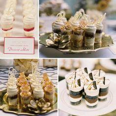 dessert bar - dessert shots