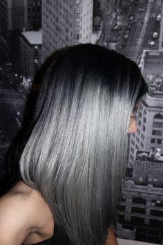 lovelydyedlocks - pravana silver mixed with black 1N