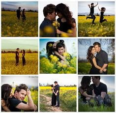 So many sweet Engagement Style Photo Ideas!