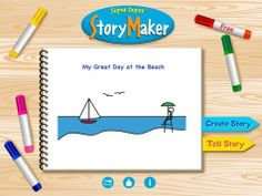 There are MANY story & book creator apps that students can use to meet the Common Core Writing Standards- but here are a few of my favorit. Speech Language Pathology, Speech And Language, Language Arts, Skills To Learn, Learning Skills, Listening Skills, Digital Storytelling, Speech Room, Language Activities