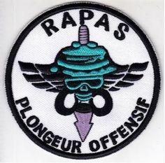 France Army 1st Airborne Infantry Regiment Combat Diver RAPAS Armee Francaise 1°