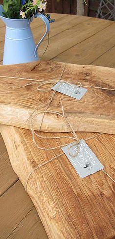 Bread board / cheese board / chopping board handmade unique oak