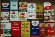 TIN SPICE CANS found in every kitchen..