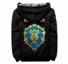 World of Warcraft mens zip up hoodies fleece plus size hoodie Mens Zip Up Hoodies, Hooded Sweatshirts, World Of Warcraft Game, Blue Grey, Black And Grey, Plus Size Hoodies, Black Zip Ups, Fleece Hoodie, Winter Wear