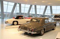 Mercedes Benz #190SL. Source: http://blog.mercedes-benz-passion.com/2012/01/erste-bilder-der-neuen-sonderausstellung-60-jahre-sl-ab-24-januar-2012-geoffnet. For all your Mercedes Benz #190SL restoration needs please visit us at http://www.bruceadams190sl.com. #BruceAdams190SL.