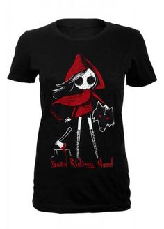 Akumu Ink Dead Riding Hood T-Shirt | Attitude Clothing