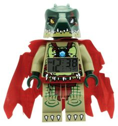 LEGO Legends of Chima Wecker - Cragger  http://www.meinspielzeug24.de/lego-legends-of-chima-wecker-cragger  #Junge, #LEGOLegendsOfChima #Textil