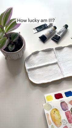 Watercolor Techniques, Painting Techniques, Learn Watercolor Painting, How Lucky Am I, Colors, Paint Techniques, Colour, Color, Paint Colors