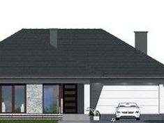 DOM.PL™ - Projekt domu DPS Indiana CE - DOM DPS1-38 - gotowy koszt budowy Indiana, Flooring, Outdoor Decor, House, Home Decor, Homemade Home Decor, Home, Wood Flooring, Haus