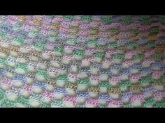 make w 6 different color yarns. Haken - tutorial: omslagdoek baksteen