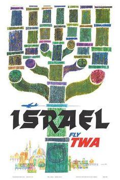 PHILADELPHIA Pennsylvania TWA Water Ski Travel Poster Holly Pin Up Art Print 127
