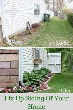 Curb appeal, curb appeal, curb appeal! It is so important when trying to get a potential buyer into your home. If your siding is in need of some upkeep, you may want to consider power washing the exterior, repainting, filling in cracks or holes or repairing trim.