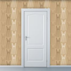 Removable Wallpaper  Best Dressed Bodice  2 ft by WallpaperDolls, $90.00