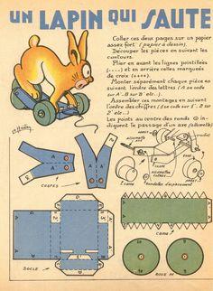 Il favoloso mondo di carta di Totò: Un coniglio che salta