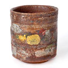 """Robin Welch (b.1936) 'Salt Glaze Pot' 4.5"""" (W) x 5"""" (H) x 4.5"""" (D)"""