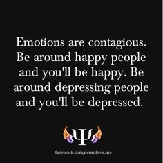 Don't bring negative energy into my space!! ;)