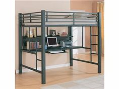shopping for lofts | Shop for Coaster Loft Bed, 460023, and other ... | Bunk and Loft Beds