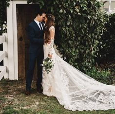Kristin Lauria and Marcus Johns