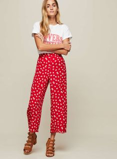 f1293c42cc17ba 13 Best cropped wide leg trousers images in 2019