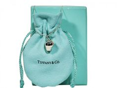 Tiffany & Co. - Apple Charm Necklace - Silver