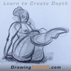 Figure drawing with FORCE by Mike Mattesi