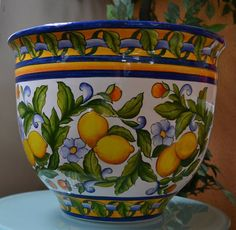 kitchen decoration – Home Decorating Ideas Kitchen and room Designs Hand Painted Ceramics, Porcelain Ceramics, Ceramic Vase, Ceramic Pottery, Pottery Art, Fine Porcelain, China Painting, Ceramic Painting, Flower Vases