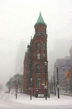 Snowy Day, Toronto, Canada