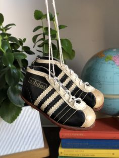 Excited to share this item from my shop: Autographed 1954 adidas World Cup football shoes miniature souvenir football boots soccer cleats signed by players autographs autograph Adidas Football, Football Shoes, Soccer Fans, Soccer Cleats, Vintage Love, World Cup, Special Gifts, Miniature, Pairs