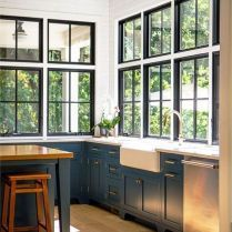 Kitchen Window Ideas (Modern, Large, and Small Kitchen Window Dressing Ideas. Kitchen Window Ideas (Modern, Large, and Small Kitchen Window Dressing Ideas) Tuscan Kitchen, House Design, House, Home, New Homes, Home Kitchens, Farmhouse Kitchen, Kitchen Design, Kitchen Window Design