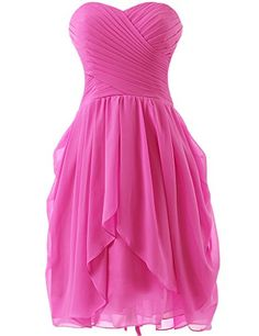 Dress U Womens Ruched Bridesmaid Dress Short Prom Dresses Hot Pink US 2 Dress U http://www.amazon.com/dp/B00X5KNR3O/ref=cm_sw_r_pi_dp_3WEIvb0WGNNVN