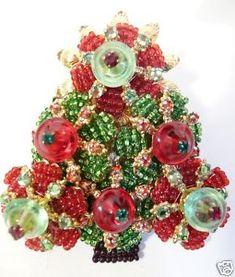 Fabulous-Vintage-Stanley-Hagler-Christmas-Tree-Brooch