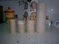 Imagen 0 Biscuit, Diy And Crafts, Arts And Crafts, Tuile, Toilet Paper Roll, Clay Tutorials, Fairy Houses, Origami Paper, Hair Bows