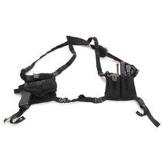 Ett dolt  bärsystem som gör er utrustning snabbt tillgänglig, som är bekväm att bära och säkert att använda.- från snigeldesign