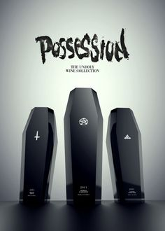 Packaging for Possession - The unholy wine collection