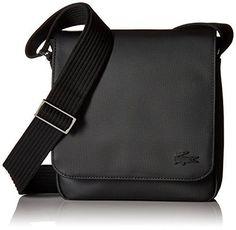 6f8ef5cdfd Lacoste Mens Men S Classic Flap Crossover Bag (eBay Link) Sacs D'école