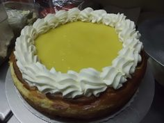 """Passion Fruit (Lilikoi) Cheesecake - by Glenn Moehlin - scroll down to the second recipe. This site also includes recipes for """"Blueberry Almond Coffee Cake,"""" """"Pineapple Chiffon Haupia Cake,"""" """"Blueberry Cheese Cake,"""" Oreo Cheesecake,"""" """"Mango Cheesecake,"""" """"Pumpkin Crepe Cake,"""" and """"Carrot Cake."""""""