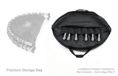 """Storage & Carry Bag for Half-Fold 39"""" JumpSport Fitness Trampolines – Premium product image Trampoline Parts, Best Trampoline, Trampoline Workout, You Fitness, Fitness Models, Trampoline Accessories, Body Detox Cleanse, Abdominal Exercises"""