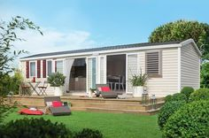Mobilhome Exclusive Parenea - You can find this mobilhome @ Camping Les Cigales in Zuid-Frankijk