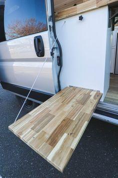 Chongo - Freedom Vans Van Conversion Designs, Cargo Van Conversion, Diy Van Conversions, Van Conversion Interior, Camper Van Conversion Diy, Bus Remodel, Trailer Remodel, Diy Camper, Camper Life