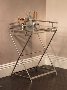 Admiral's Stainless Steel Rectangular Serving Table-ON BACKORDER UNTIL AUGUST 2015 #homedecor #decorate #redecorate #bar #barware