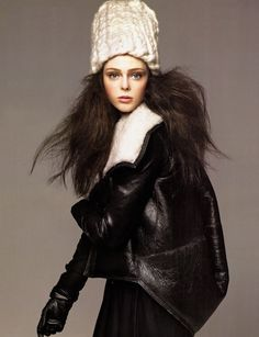 "Coco Rocha in ""Cloud Atlas"" (Vogue US) by David Sims, July 2007"