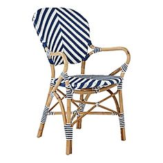 love these chevron armchairs (cute stool versions too!)