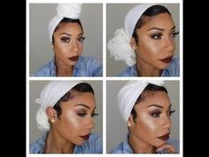 4 Favorite Turban Styles Faceovermatter Head Wraps Geles I in size 1936 X 1936 Scarf Hairstyles For Natural Hair - Today, many people remarked that famous Hair Wrap Scarf, Hair Scarf Styles, Curly Hair Styles, Pelo Natural, Natural Hair Tips, Natural Hair Journey, Headwraps For Natural Hair, Short Natural Hair, Bad Hair Day