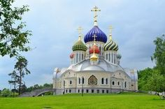 The Church of the Holy Prince Igor of Chernigov in Peredelkino, Moscow, Russia