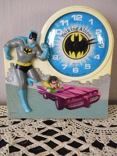 Batman and Robin Talking Alarm Clock. Not a toy, per se, but something I really enjoyed as a kid.  Waking up in the morning was another matter...