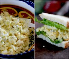 The Perfect Egg Salad with Easy Homemade Mayo and Lacto-Fermented Pickles ~ Real Food Family