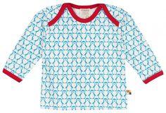 Shirt met Wol - Blauwe pinguins