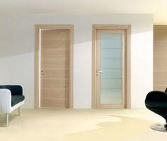 Porte interne in legno rovere sbiancato porte interne in - Porte rovere chiaro ...