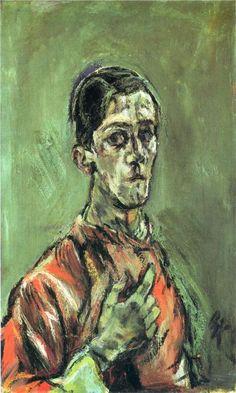 Oskar Kokoschka - Self-Portrait, 1913